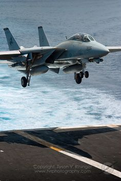 Carrier Strike Group Two conducts sea trials in the Atlantic prior to deployment - Tomcat Final Deployment Fighter Aircraft, Fighter Jets, Uss Theodore Roosevelt, Carrier Strike Group, Fun Fly, F14 Tomcat, Airplane Car, Top Gun, Fun Shots