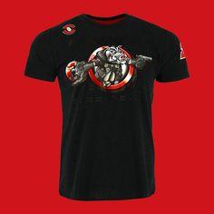 Sale Marc Marquez #93 Honda MotoGP Mens Team Polo Shirt MM93 Tee in RED