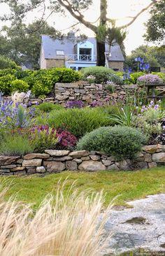 Maison du jardin breton #gardendesign
