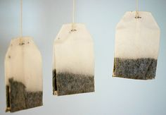 Hang Good Earth Spiced Tea bags to naturally freshen a room. It absorbs odors and doesn't leave the harsh air freshener smell.