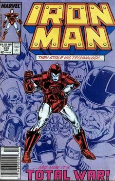 Iron Man - Issue Armor Wars Part 1 of 8 - Stark Wars! Guest-starring Ant Man (Marvel Comics NM-All our Comics are bagged and boarded and ship in a bubble mailer for extra protection.The comic pictured is the comic you will receive. Iron Man Comic Books, Comic Books Art, Comic Art, Book Art, Marvel Comics Superheroes, Marvel Heroes, Vintage Comic Books, Vintage Comics, Comic Book Covers