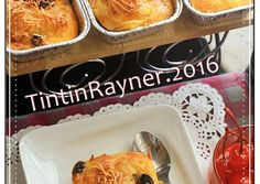 Schotel Peyeum/ Tape Manis yang super yummy & legit foto resep utama Resep Cake, Indonesian Food, Indonesian Recipes, Bread Rolls, Custard, Cake Recipes, French Toast, Food And Drink, Snacks