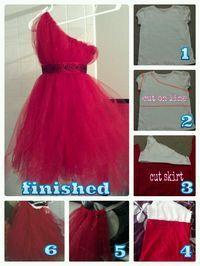 DIY Flower Girl: How to make my one shoulder tutu flower dresses! Diy Dress, Tulle Dress, Fancy Dress, Dress Up, Tutu Dresses, Tutus For Girls, Girls Dresses, Vetements Clothing, Tulle Crafts