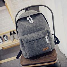 2017 Women Canvas Backpacks Ladies Shoulder School Bag Rucksack For Girls Travel Fashion Casual Bags Bolsas Mochilas Sac A Dos ** Podrobneye otzyvy o produkte, posetiv ssylku na izobrazheniye.
