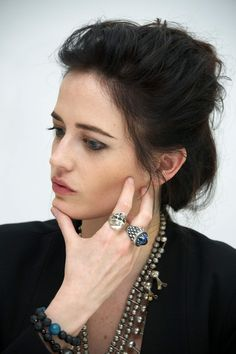 EVA GREEN at 300: Rise of an Empire Press Conference at the Four Seasons Hotel - HawtCelebs
