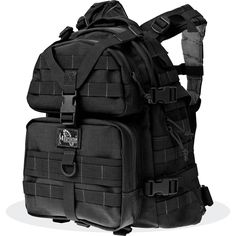 Maxpedition Condor-II Assault Pack Tactical Military Backpack, Enhanced Daypack - MAXPEDITION HARD-USE GEAR Tactical Nylon Gear for Military, Law Enforcement, Tactical Concealed Carry; Tailored to Perform Tactical