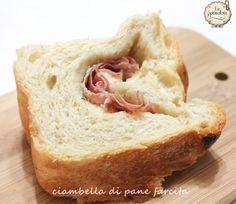 ciambella di pane ripiena | ricetta fornetto versilia