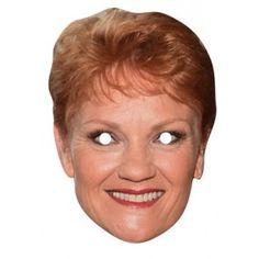 Pauline Hanson Celebrity Mask 073
