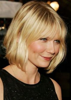 Top 100 Hairstyles For Round Faces | Herinterest in Amazing wispy bangs for round  faces Pertaining