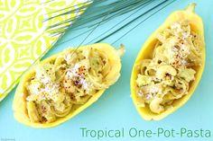 Tulpentag: Tropical One-Pot-Pasta #Nudeln
