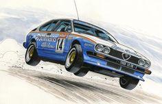 d Clovis Claude Viseur-Alfa Romeo GTV (Magazine KM-H novembre 2013) 1