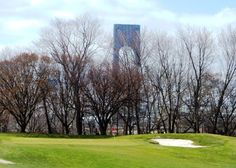 Dyker Beach Golf under the shadow of the gigantic Verrazano Narrows Bridge, where I learned to play as a boy ... good golf in Brooklyn? Yep.