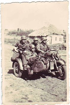 BMW Motorcycle on the Russian Front