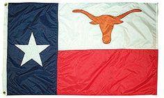 Texas/UT flag.