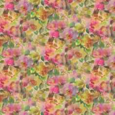 A dazzling watercolour rendition of soft, generous fruit and full-bloom pinky and yellow flowers. Other colour ways are available. Please request a sample for true colour match. Wall Candy, Colour Match, Designers Guild, Soft Furnishings, Yellow Flowers, True Colors, Painted Furniture, Watercolour, Berry