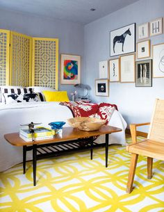 Um lindo apartamento em Madrid e como é simples se inspirar…