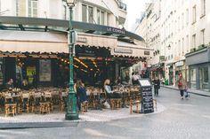 Cutest streets in Paris - Rue Montorgueil restaurants and cafes - Complete Paris Travel Guide Paris France Travel, Paris Travel Guide, Travel Guides, Travel Tips, Winter Travel, Summer Travel, Paris Cafe, Romantic Vacations, Paris Photos