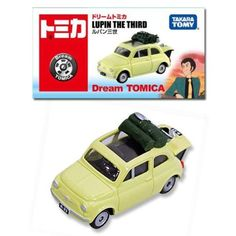 TAKARA-TOMY-Dream-TOMICA-LUPIN-THE-THIRD-FIAT-500