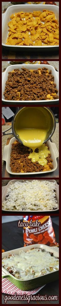 New Food & drink: Taco Bake                                                                                                                                                                                 More