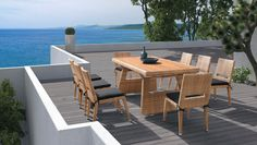 It's time to upgrade your outdoor space with our stunning luxury Higold garden furniture exclusive to Sweetpea & Willow, this is your chance to join the elite. Garden Table, Garden Chairs, Garden Furniture, Outdoor Furniture Sets, Outdoor Decor, Restaurant Furniture, Restaurant Chairs, Take A Seat, Furniture Collection