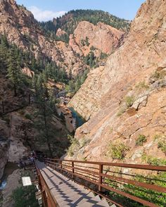 The View From The Top Of The Stairs At @seven_falls Make Sure To Put Them  On Your #summer Bucket List! #visitpikespeak #explore #adventureisoutthere  # ...