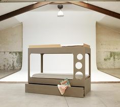 Literas de diseño http://www.mamidecora.com/muebles-infantiles-bean-home.html