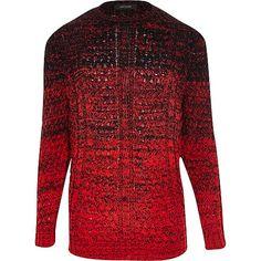 http://www.riverisland.com/men/sale/jumpers–cardigans/Red-ombre-cable-knit-jumper-283386