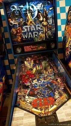 Star Wars Pinball Machine - iplayed this machine in ,my youth;) such memories Arcade Game Room, Arcade Games, Pinball Games, Flipper Pinball, Stern Pinball, Cave Man, Nerd Cave, Man Caves, Arcade Machine