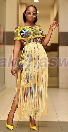Simple And Creative Ankara Long Dress Styles 2019 African Fashion Ankara, African Inspired Fashion, Latest African Fashion Dresses, African Print Fashion, Africa Fashion, African Print Clothing, African Print Dresses, African Dress, African Prints