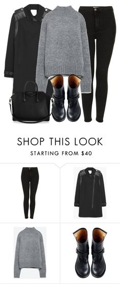 """Untitled #4675"" by laurenmboot ❤ liked on Polyvore featuring mode, Topshop, MANGO, Zara, Fiorentini + Baker en Givenchy"