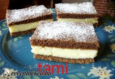 Hungarian Cake, Hungarian Recipes, Hungarian Food, Cottage Cheese, Sweet Cakes, Vanilla Cake, Tiramisu, Nom Nom, Muffin