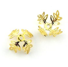 10pcs 1825mm Gold Plated Large Filigree by FancyGemsandFindings, $7.99