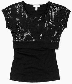 Girls-Sugar Tart Sequin 2-Fer Top #buckle #fashion www.buckle.com