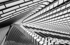 Liège-Guillemins I | Jeroen van de Wiel  Escher's vanishing point?