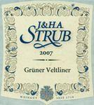 Niersteiner Grüner Veltliner, Weingut Strub, Rheinhesser, Germany