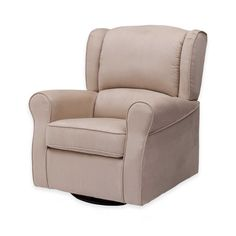 Ideal for lullabies, story time, and (later down the road) football or a good suspense novel, the Delta Children Morgan Upholstered Glider. Swivel Rocker Chair, Rocking Chair, Girls Furniture, Delta Children, Clean Microfiber, Cool Chairs, Gliders, Farmhouse Table, Seat Cushions