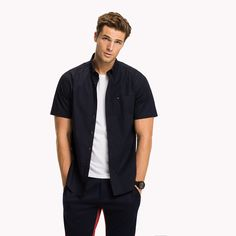 Image for Short Sleeve Cotton Shirt from TommyUK