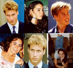 young Kate Middleton and Prince William! how cute!