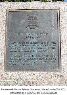 Plaque commémorative à l'intérieur de l'Église de Bresolettes L'association des familles Pelletier a dévoilé cette plaque le 8 septembre 1991 pour commémorer le 350è anniversaire de son arriv…