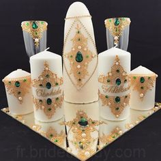 Backyard Party Decorations, Christmas Party Decorations, Wedding Ceremony Decorations, Afghan Wedding, Henna Party, Henna Candles, Candle Art, Wedding Champagne Flutes, Wedding Plates
