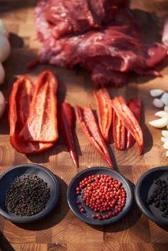 Wild Voatsiperifery Pepper, Pink Pepper, Tasmanian Pepper Spiced Nuts, Superfoods, Steak, Spices, Stuffed Peppers, Cover, Pink, Spice, Stuffed Pepper
