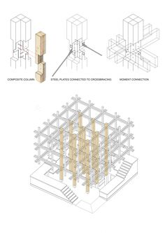 Architects: College of Environmental Design UC Berkeley, Kengo Kuma & Associates Diagram 7