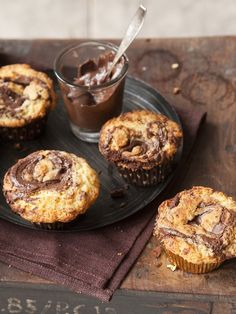No Bake Desserts, Vegan Desserts, Finnish Recipes, Sweet Pastries, Healthy Treats, I Love Food, Food Inspiration, Nutella, Sweet Tooth