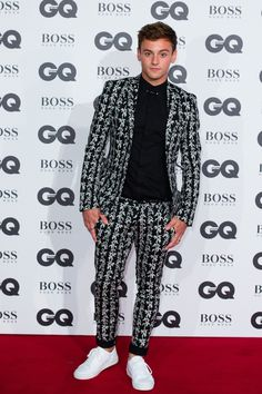Tom Daley aux GQ Men of the Year Awards 2016