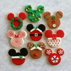 Disney Christmas Cookies Recipes Video Instructions