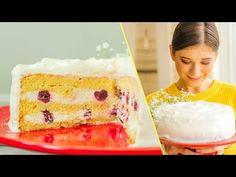 CEL MAI PUFOS TORT SMÂNTÂNEL I Rețetă + Video - Valerie's Food Vanilla Cake, Cheesecake, Desserts, Youtube, Food, Recipes, Tailgate Desserts, Deserts, Cheesecakes