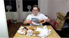 McDonald's Secret Burger | MukBang Deutsch  [Live Twitch] eatingshow HTLL