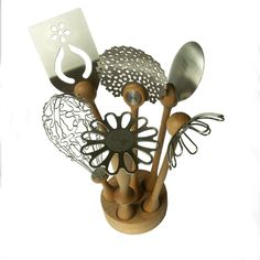 Wild Flower Utensil Set from bojje | Made By bojje | £119.85 | Bouf