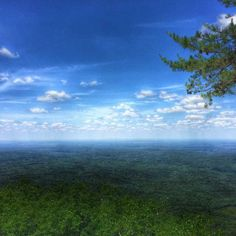From atop Alabama's highest mountain in Cheaha State Park.  Pinned from James Spann Facebook post 5/23/15.
