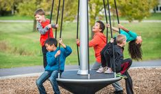 NEW! TopsyTurny™ Spinner - Playground Spinner Encourages Collaborative Play